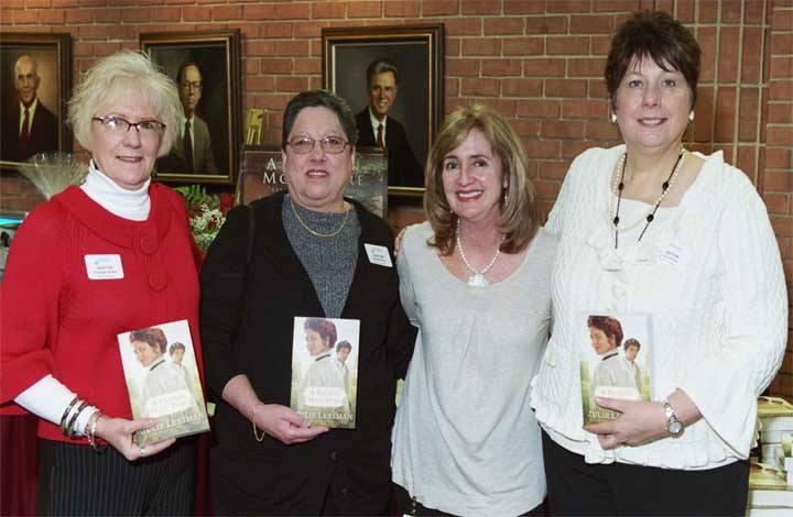 Lifelong friends Charlotte, Rusceilla and Joyce
