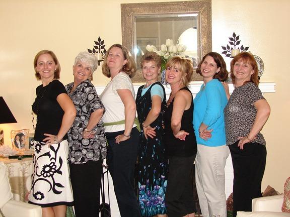 Work Buddies: Carol Ann, Sandy, Joanne, Jenny, Me, Cynthia and Betty