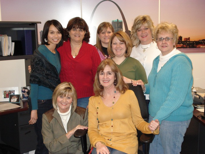 Friends at Joyce Meyer Ministries: Melanie, Barb, Becky, Marilyn, Tiffany, Angie