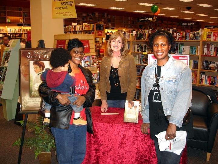 Fellow ACFW friend, LaShaunda Hoffman, her little boy and her friend, Ann