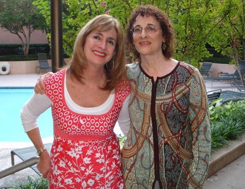 Julie and her Agent, Natasha Kern